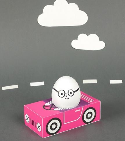 Объемные игрушки из бумаги (5)