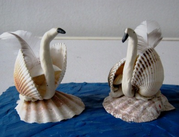 Идеи для игрушек и поделок из морских ракушек.