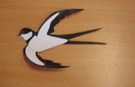 Объёмные птицы своими руками фото 237