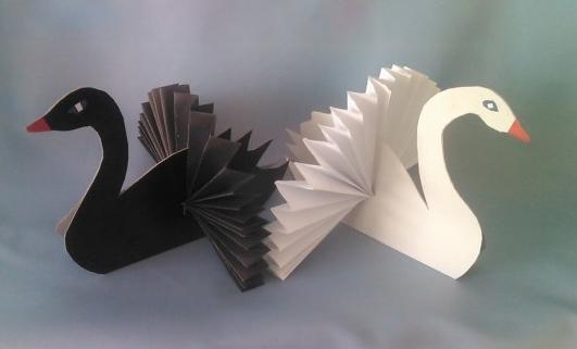птицы из бумаги своими