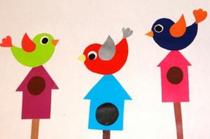 Птицы из бумаги своими руками (76)