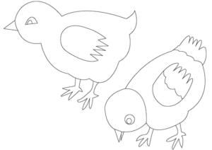 Раскраски птицы (12)