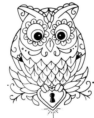 Раскраски птицы (2)