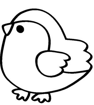 Раскраски птицы (33)