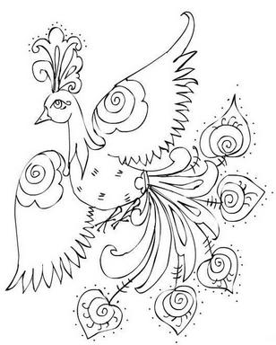 Раскраски птицы (40)