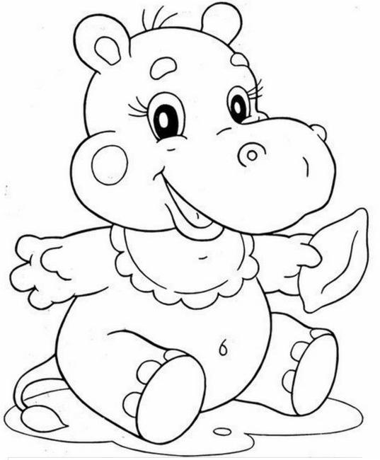 Распечатать бесплатные раскраски для детей (10)