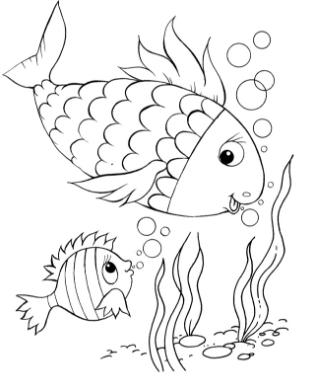 Распечатать бесплатные раскраски для детей (14)