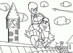 Распечатать бесплатные раскраски для детей (15)