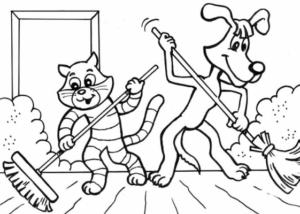 Распечатать бесплатные раскраски для детей (3)