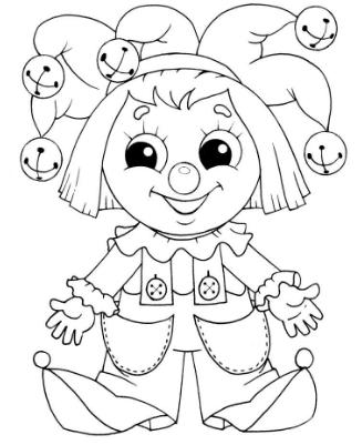 Распечатать бесплатные раскраски для детей (4)