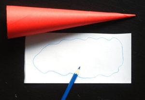 Как сделать дед мороза из бумаги (7)