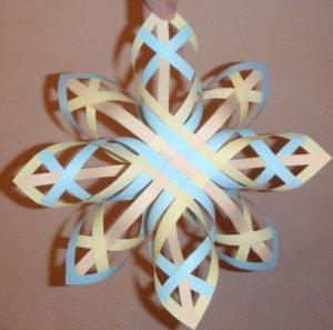 Объёмные снежинки