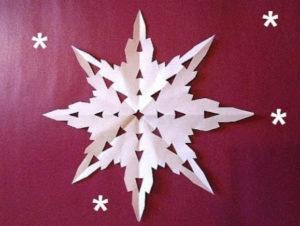 Самые красивые новогодние снежинки