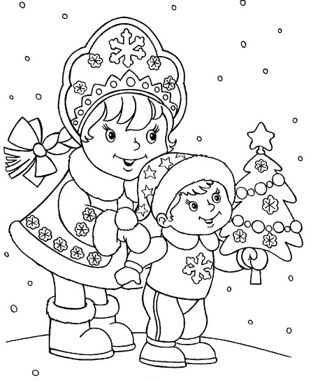 Как сделать снегурочку (12)