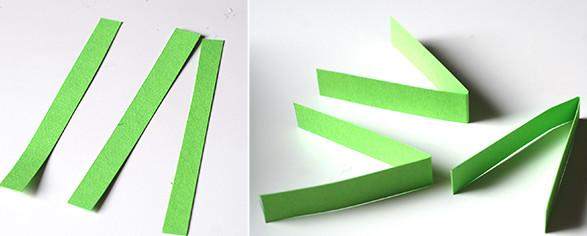 Новогодние игрушки из бумаги (20)