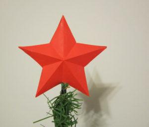 Новогодние игрушки из бумаги (4)