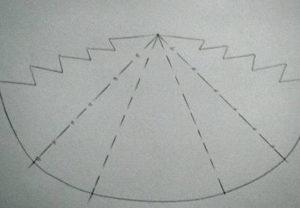 Ёлочки из бумаги (17)