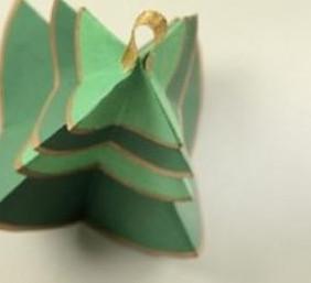 Ёлочки из бумаги (2)