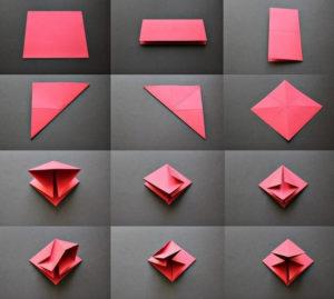 Ёлочки из бумаги (4)