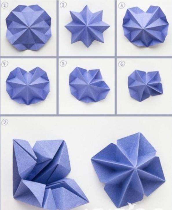 Ёлочки из бумаги (7)