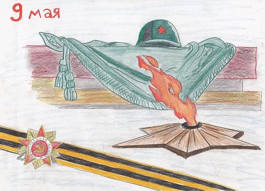 Лучшие идеи для детских рисунков к 9 мая