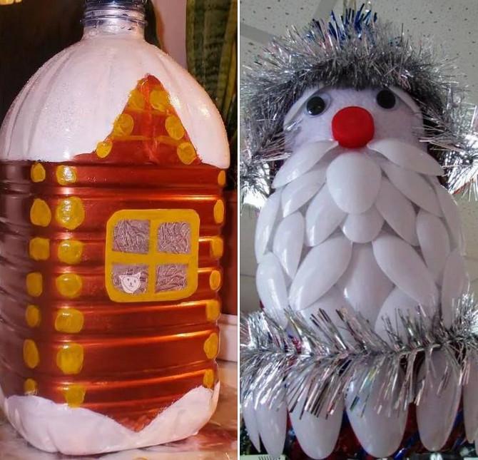 Большие новогодние игрушки на уличную ёлку: фото, идеи, видео...