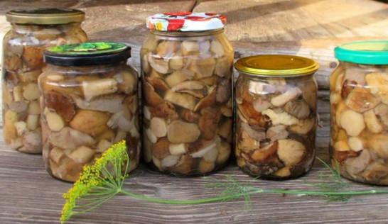Универсальный маринад для всех грибов (на зиму)...