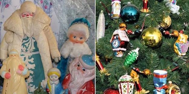 Помните ёлочные игрушки нашего детства? Самые красивые новогодние игрушки времён СССР (30 фото)...