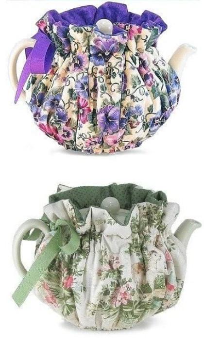 Чехол для чайника... Так чай будет вкуснее!