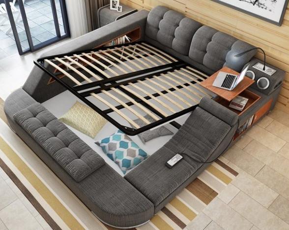 Чудо-кровать, которую вам не захочется покидать никогда...