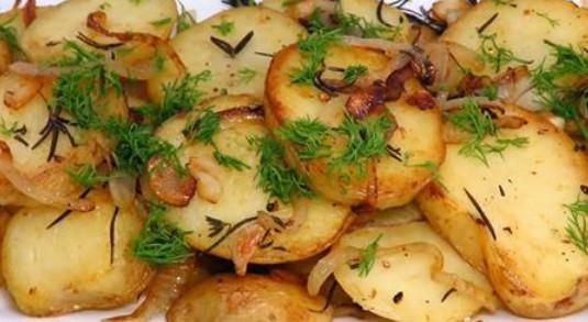 Секрет вкусной жареной картошки с луком: мой любимый рецепт...