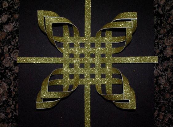 Сделай чудесную звезду своими руками! Сказочное украшение для елки....