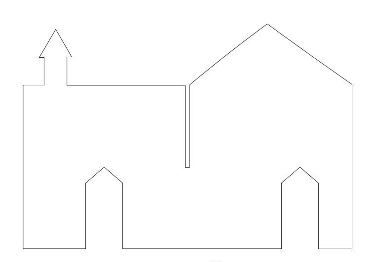 Сделать замок из бумаги своими руками схемы шаблоны, днем
