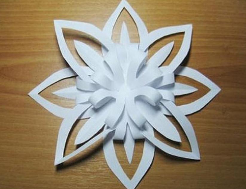 Обьемные цветы вязанные крючком. - схемы - Каталог статей - Вышивка