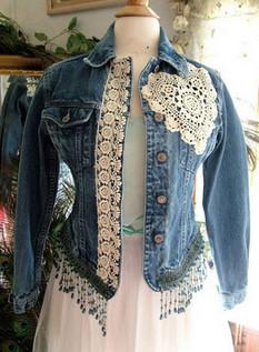 Многообразный декор джинсовых курток: более 20 потрясающих вариантов...