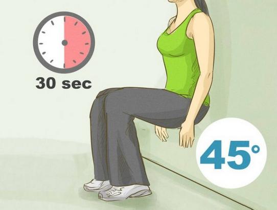 Как убрать жир с бедер? 4 полезных упражнения...