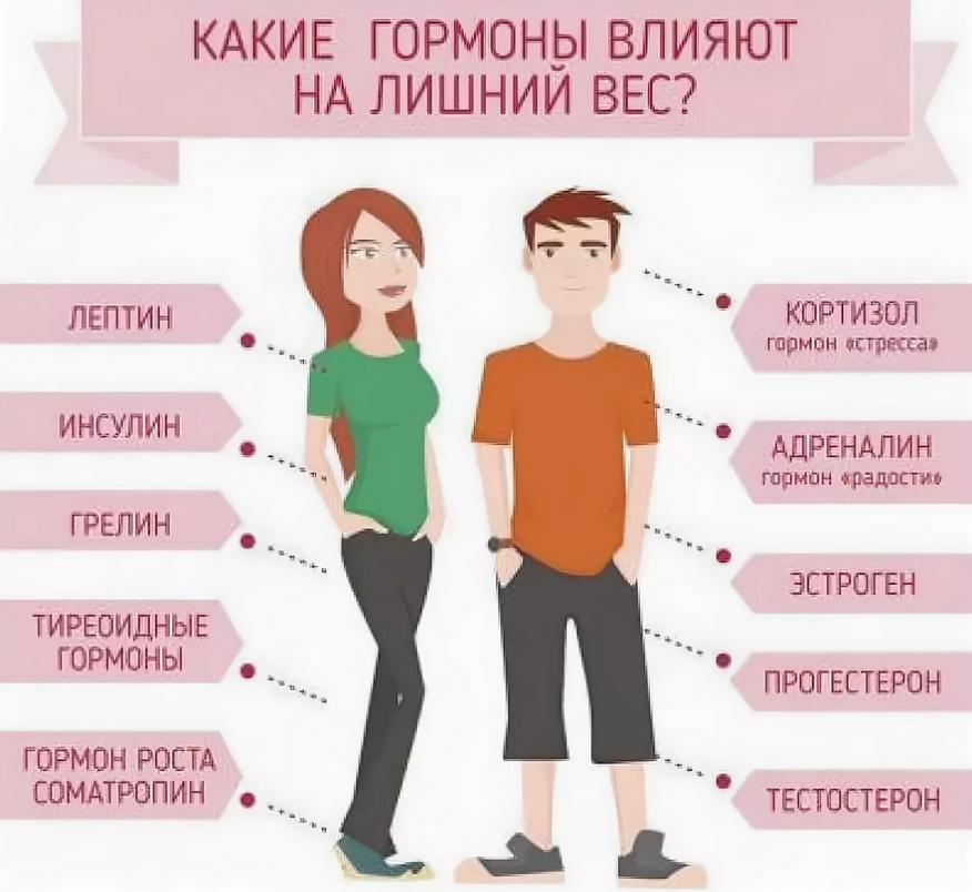 Какие гормоны надо сдать при похудении