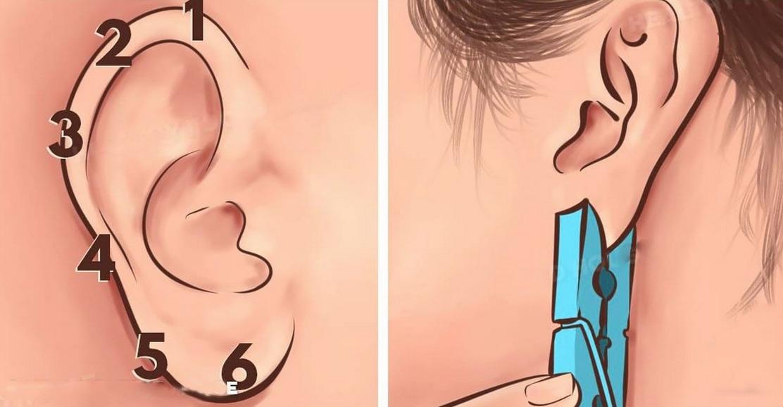Зажмите ухо прищепкой на 5 секунд. Эффект будет неожиданным